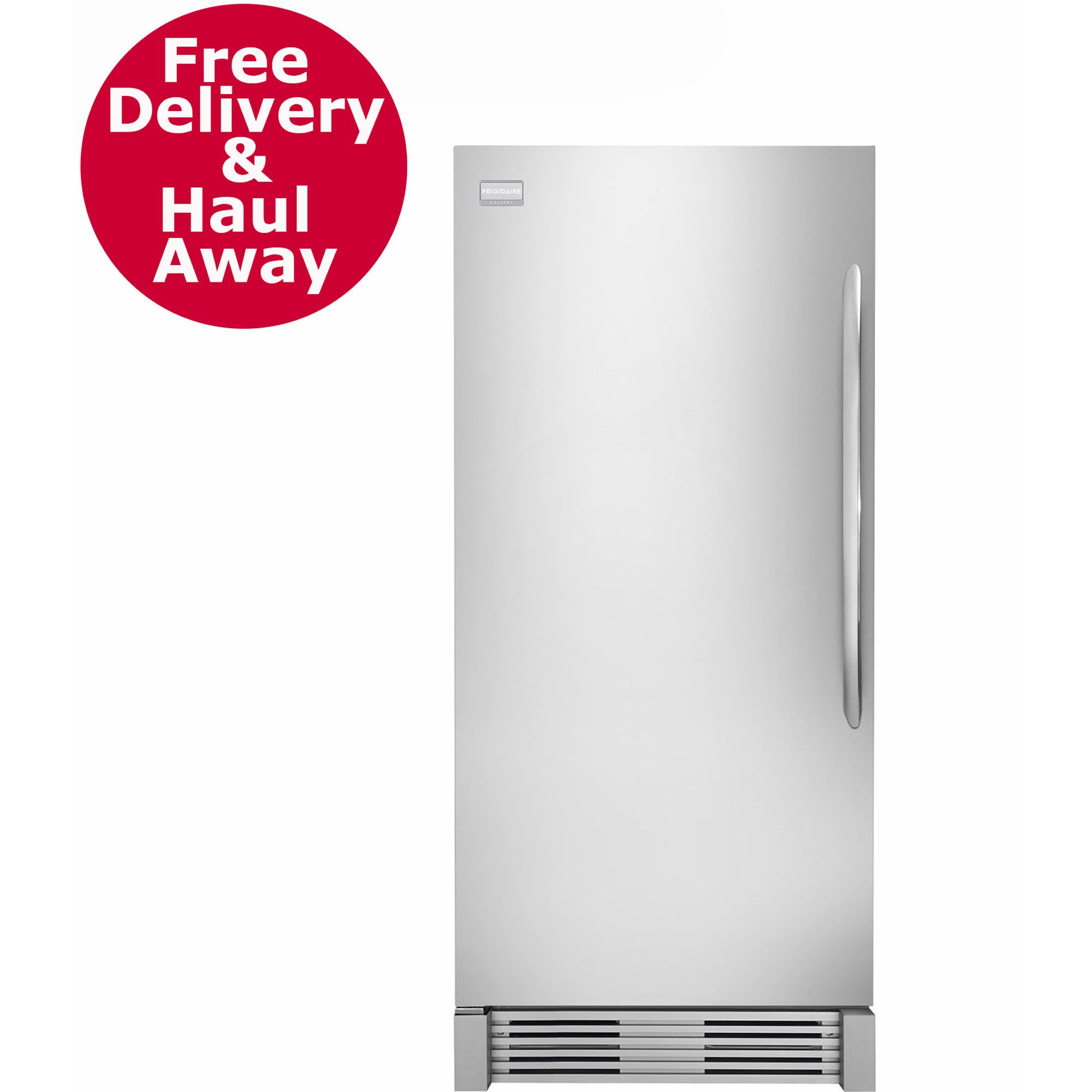Frigidaire 18.6-Cu. Ft. Built-In Upright All-Freezer - Stiainless Steel