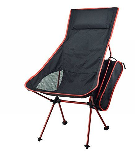 Portacamp Ultralight Tallback Compact Folding Camping Tailgating Hiking Sports Chair Red See T Outdoor Folding Chairs Outdoor Chairs Folding Camping Chairs
