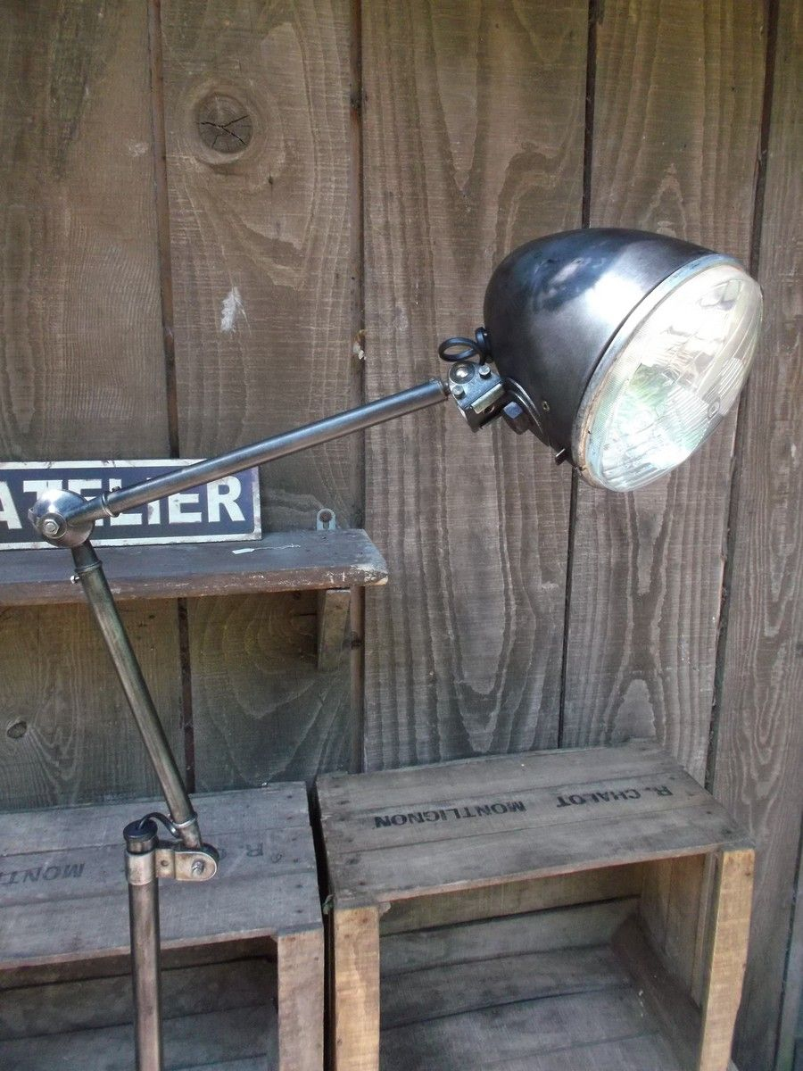 Lampe Atelier Liseuse Phare 2cv Lampe Atelier Lamp Liseuse