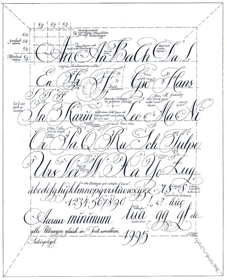 copperplate calligraphy exemplars