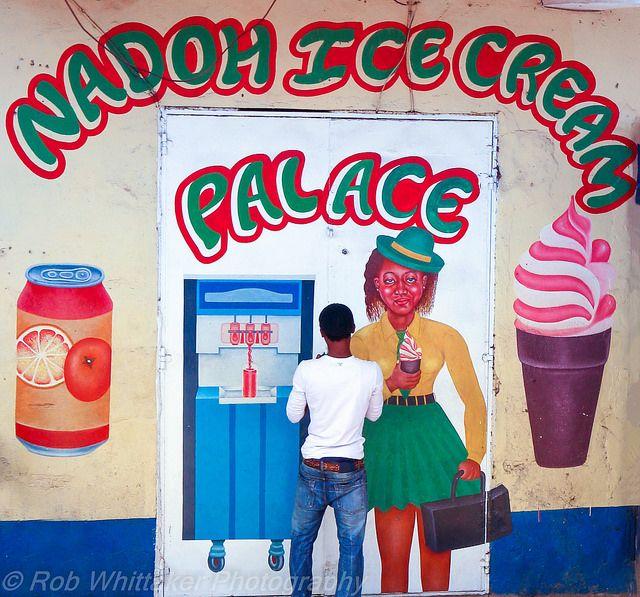 Sierra Leone - Ice Cream Palace   por Rob Whittaker Photography