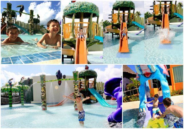 Kids pool at the hard rock hotel cancun all inclusive - Child friendly hotels swimming pool ...
