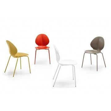 Chaise Basil 4 Pieds Calligaris Chair Furniture Design