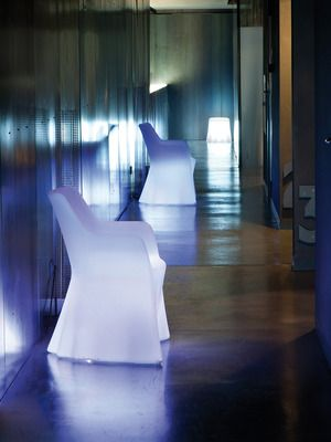 Wonderful Indoor/Outdoor Illuminated Phantom Chair By Domitalia On Gilt Home