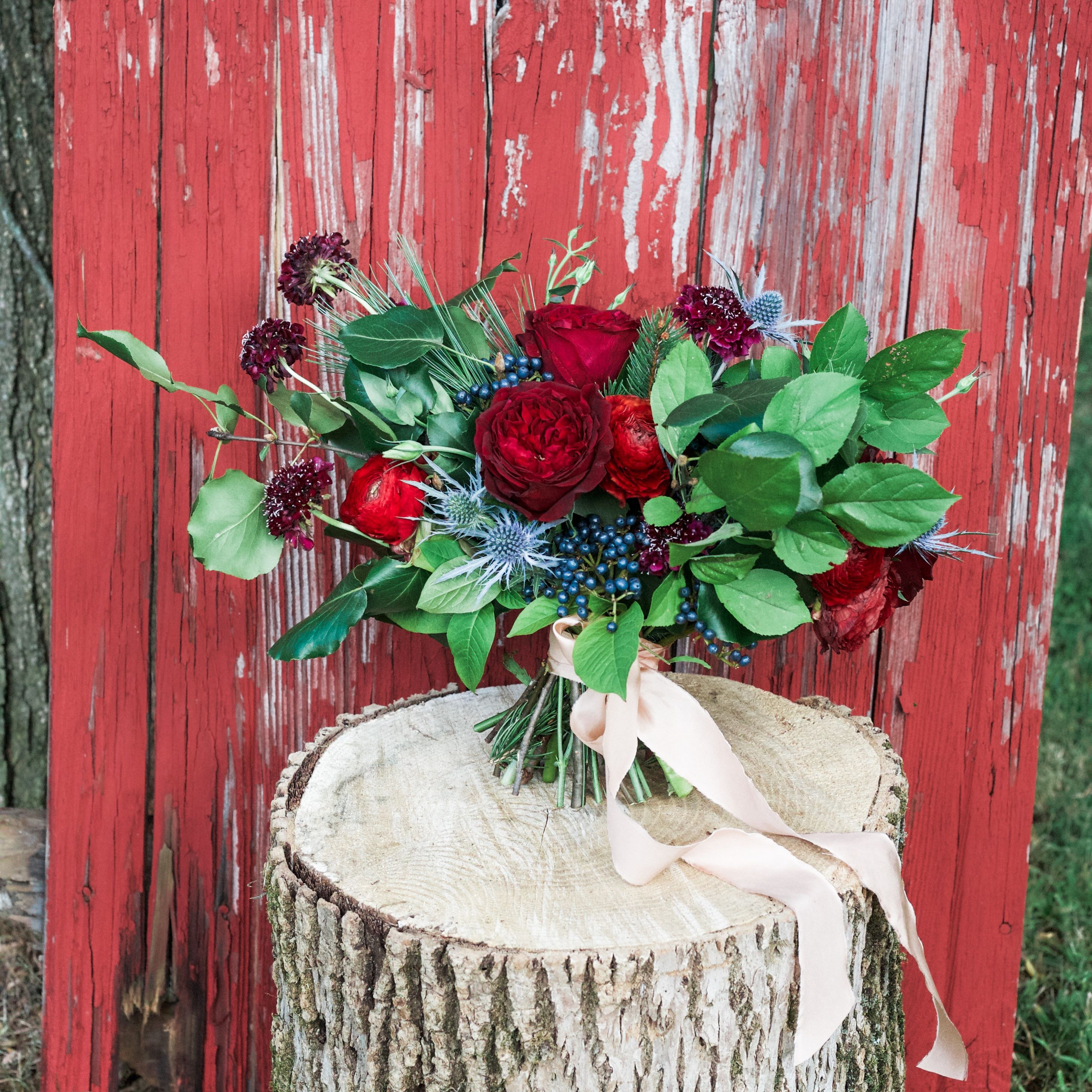 Winter Wedding Styled Shoot Bridal Bouquet   winter wedding bouquet ...