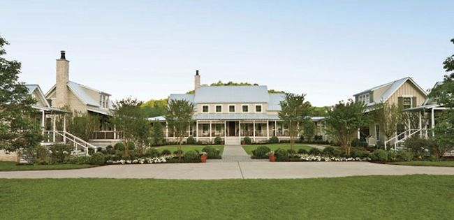 Nashville Idea House At Fontanel Facade Southern Living Homes