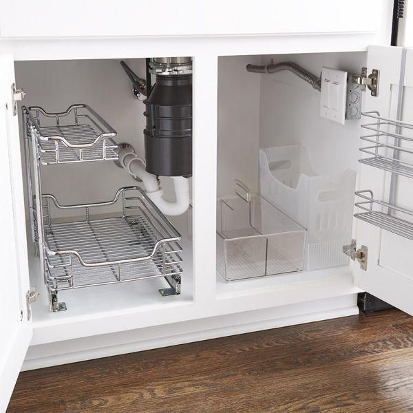 How To Organize Your Under Sink Storage - Step-By-Step Project in
