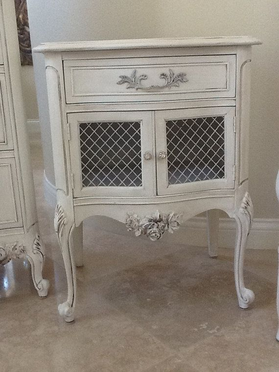French Provincial Nightstand / End Table . I Am Looking For 2 Of These