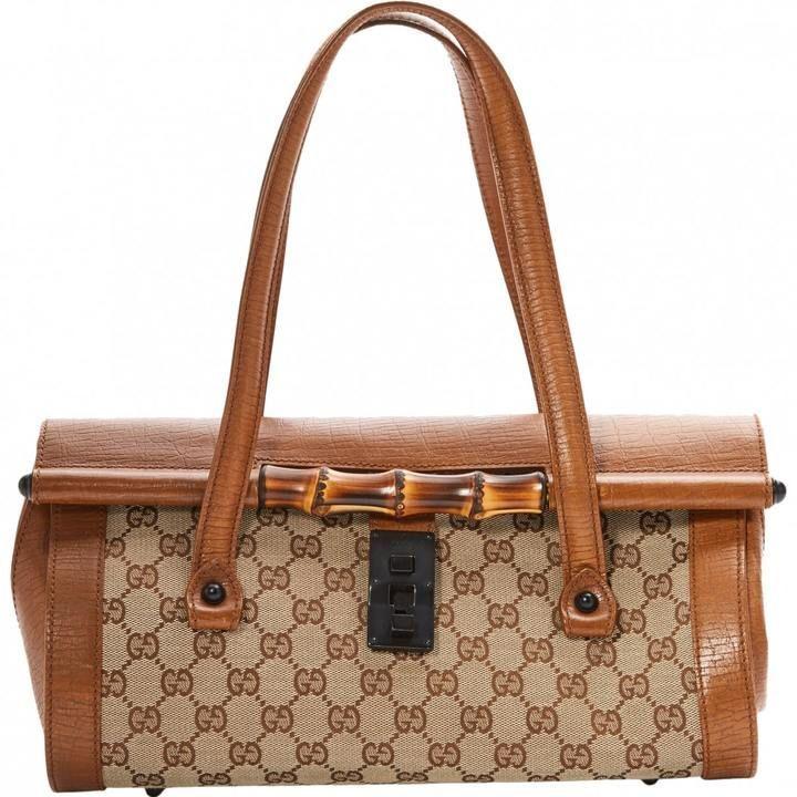 3dda5bae0d2a07 Gucci Bamboo cloth bag   Gucci   Cloth bags, Gucci bamboo, Gucci