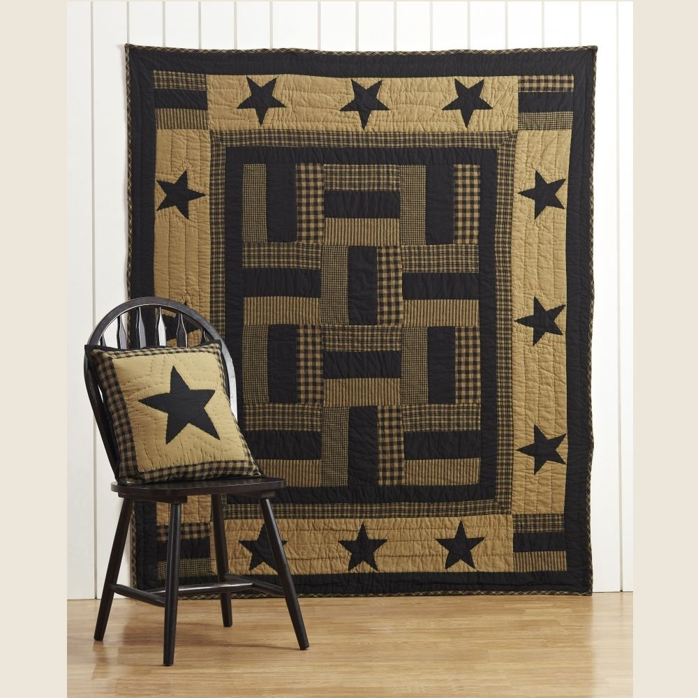Delaware Quilted Bedding Throw quilt, Country quilts