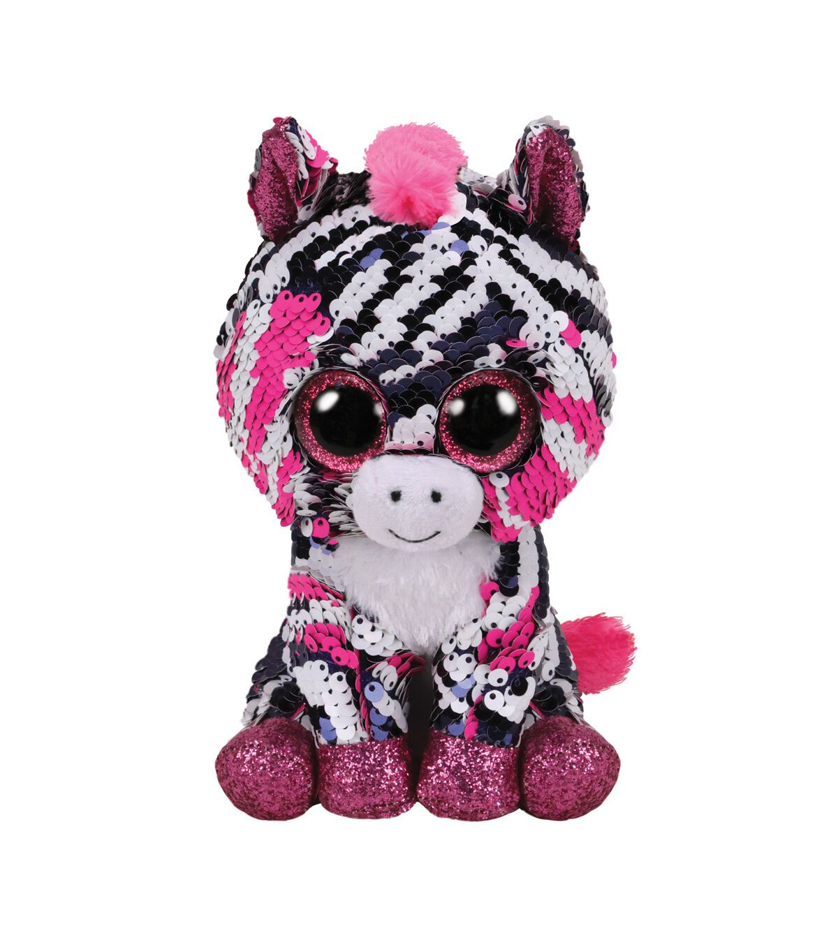 """Ty Beanie Boos Toy Flippables Animal Doll*Diamond Color Changing Sequin Plush 7/"""""""