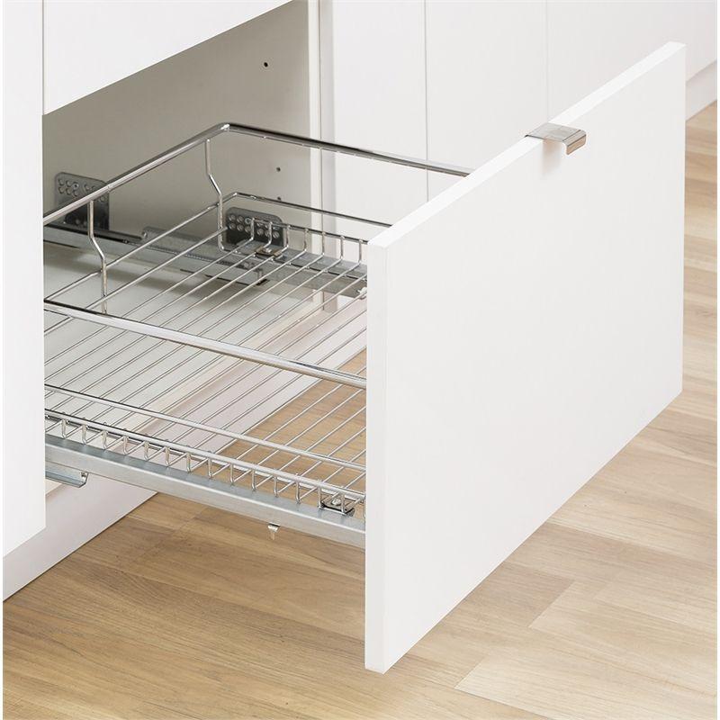 kaboodle 450mm soft close pullout basket kitchen organisation kitchen pulls kitchen storage on kaboodle kitchen storage id=52305