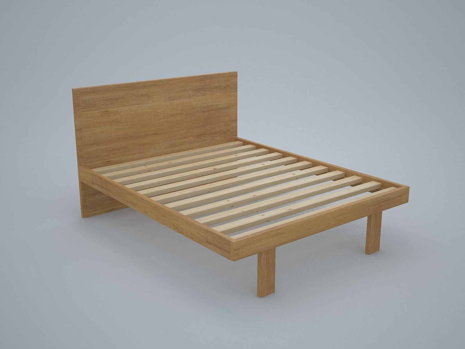 Elswick Custom Timber Bed Frame with Legs | Timber bed frames, Bed ...