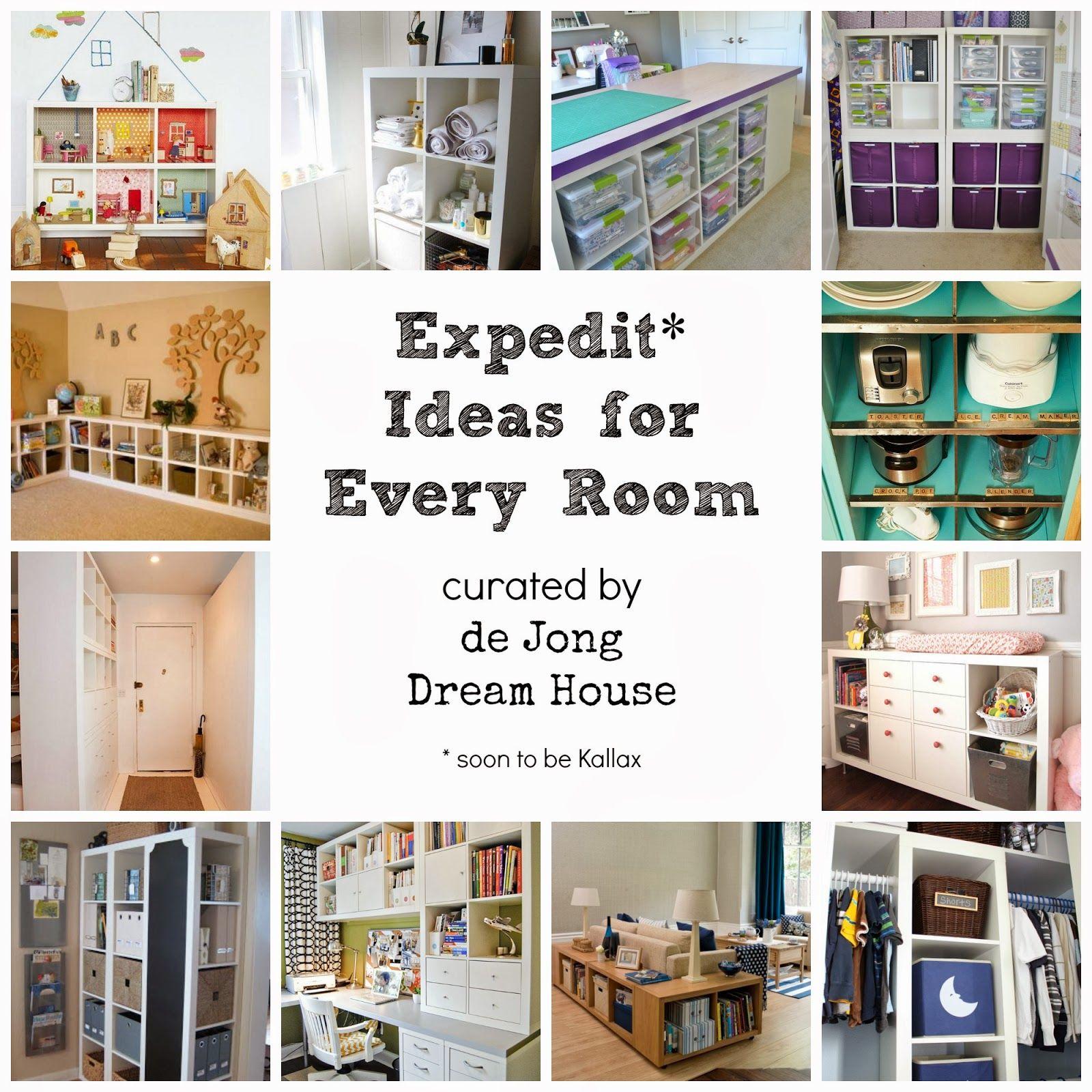 De jong dream house expedit ideas for every room diys crafts
