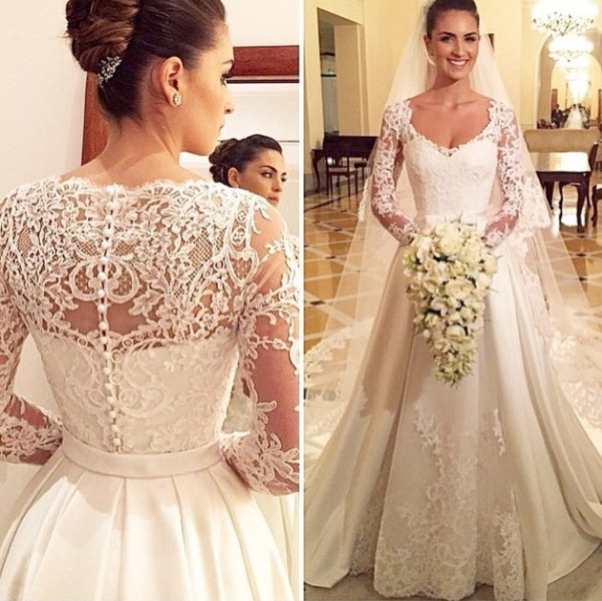Elegant look for that special day | Wedding dress | Pinterest ...