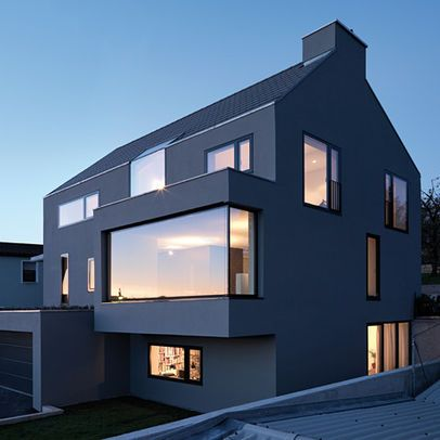 Strange Modern Bay Window Pop Out Window Seat Houses In Germany Creativecarmelina Interior Chair Design Creativecarmelinacom
