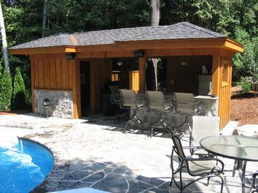 Pool shed design ideas pictures remodel and decor for Show parameter pool