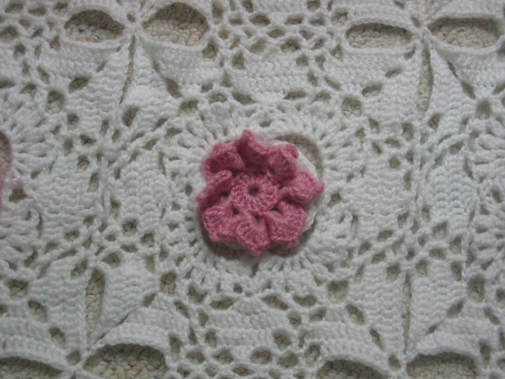 Flowers In The Snow afghan is my latest free pattern. It was one of ...