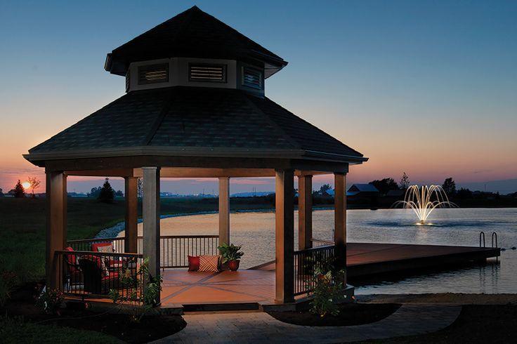 Lakeside Gazebo By TimberTech