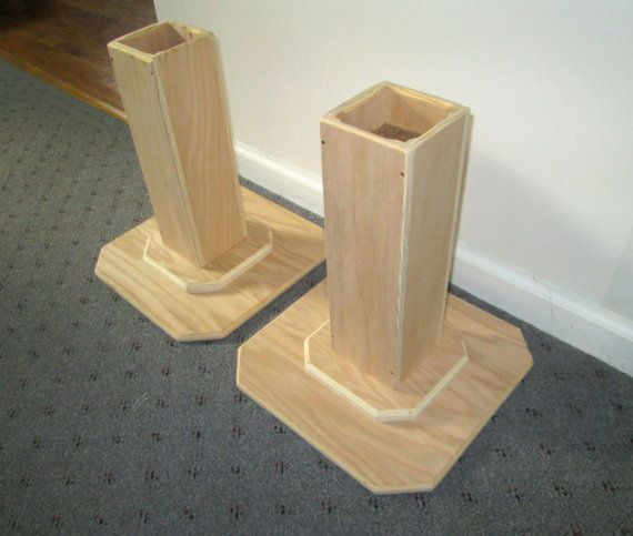 Furniture Risers 14 Inch All Wood Construction By Odyssey359 Demi