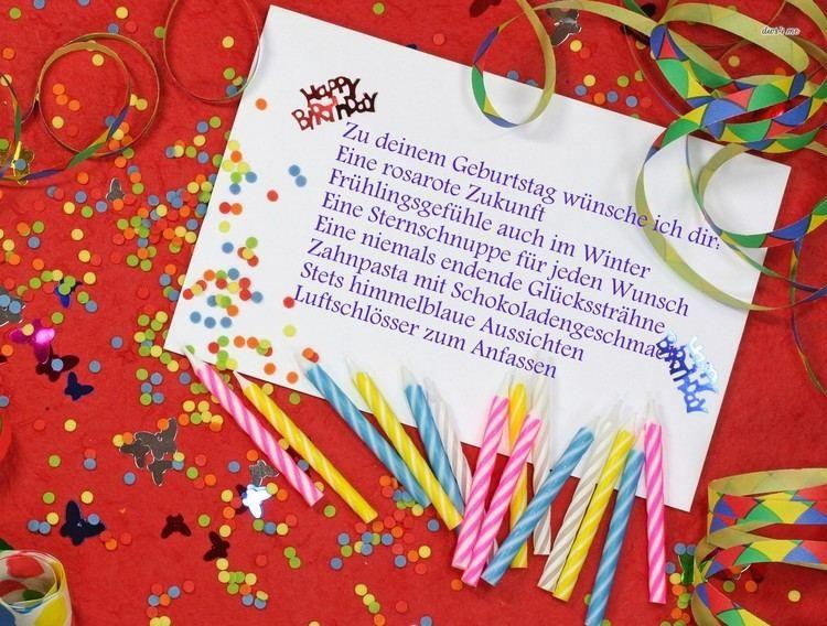 Geburtstagssprüche Für Frauen   Rosarote Zukunft