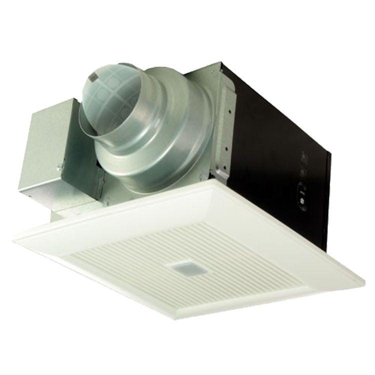 Panasonic WhisperSense CFM Bathroom Fan With Motion Humidity - Panasonic 110 cfm bathroom fan
