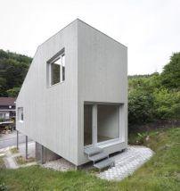 Minihaus in Kaiserslautern / Spielbox auf Stelzen - Architektur und Architekten - News / Meldungen / Nachrichten - BauNetz.de