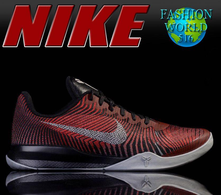 the latest 1dd4b 220b6 NIKE Kobe Mentality II 818952 002 Men s Basketball - Black Silver Red - Size  14  NIKE  BasketballShoes