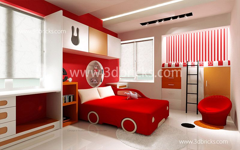 Famous Architects In Trivandrum 3d Bricks Case Studies With Images Boys Room Design Amazing Bedroom Designs Boy Bedroom