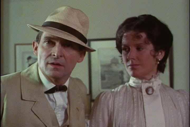 Sherlock and a lady