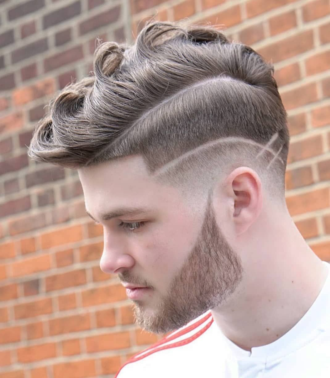 35 awesome design haircuts for men