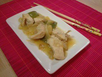 Día de la comida ligera: pollo con salsa agridulce