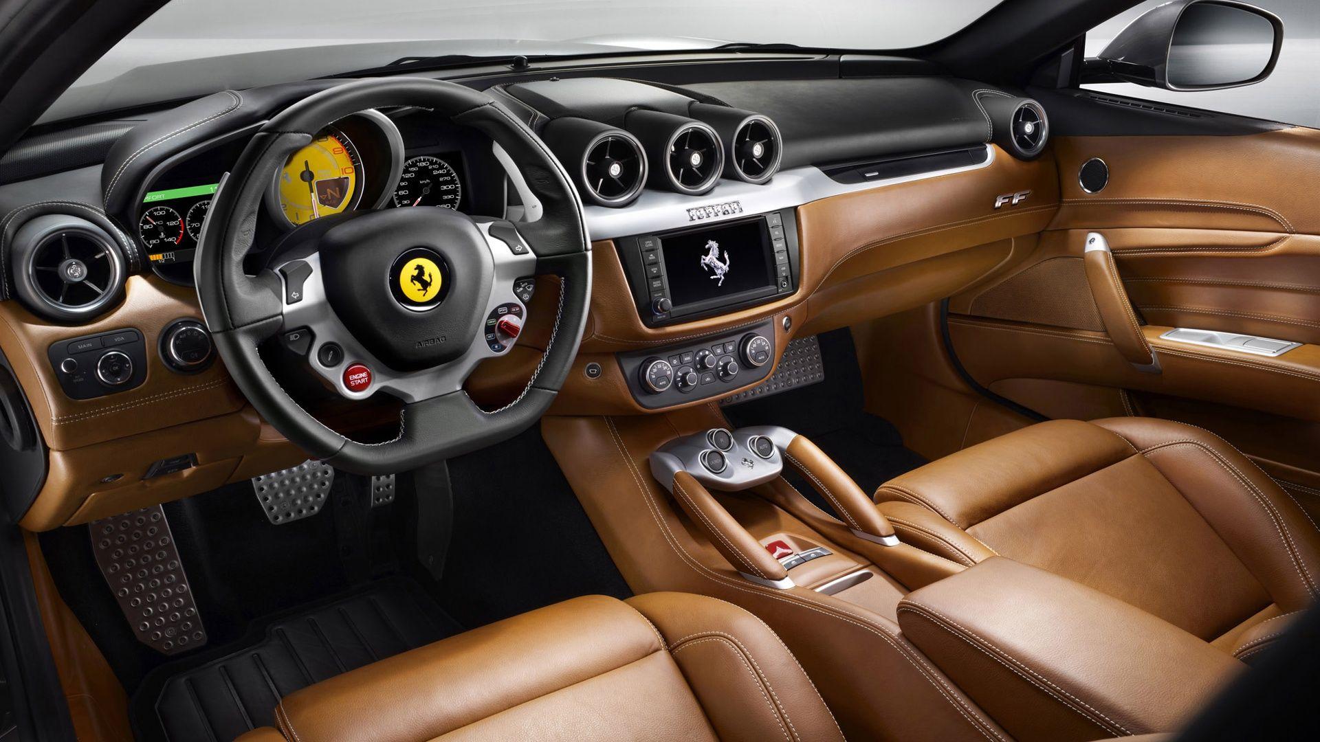 2012 Ferrari Ff Top Speed Ferrari Car Ferrari Car Interior