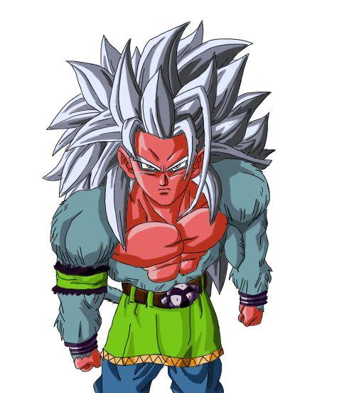 Goku ssj5 Prototype by NeDan89 on DeviantArt