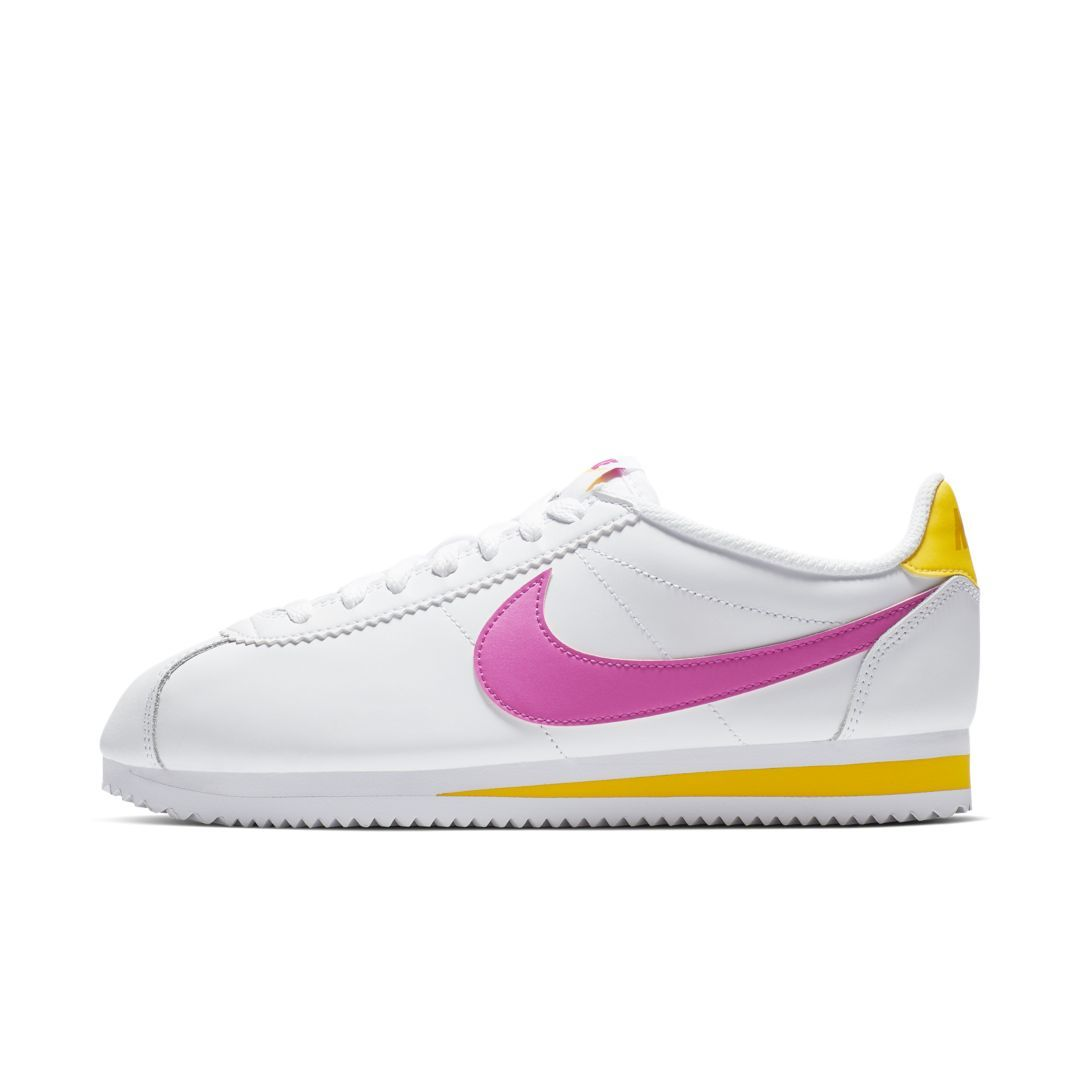 nike women's nike classic cortez leather shoe