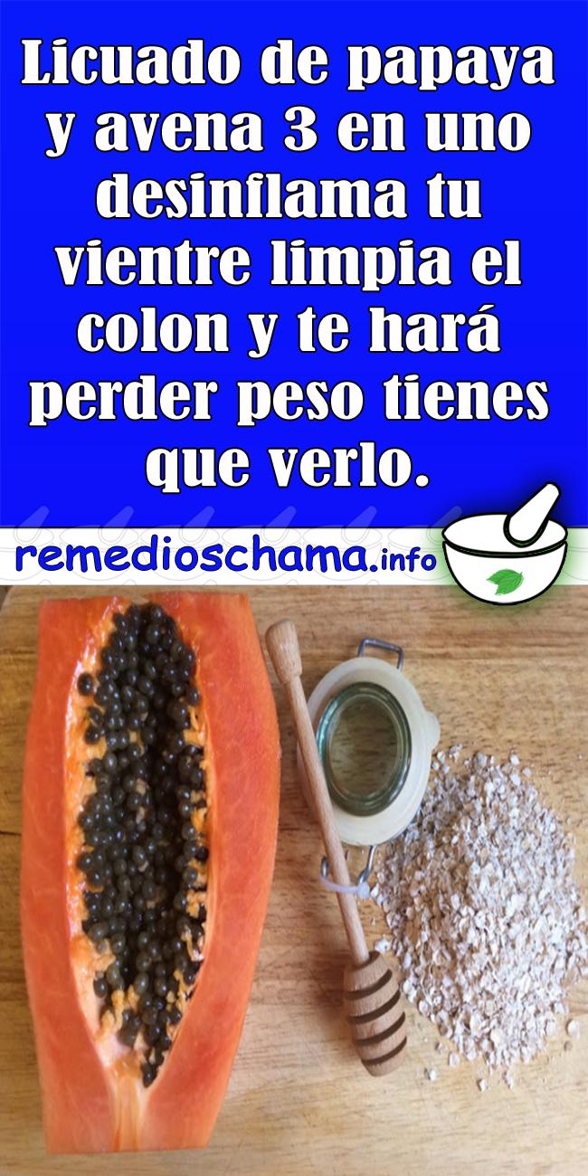 La semilla de papaya sirve para adelgazar
