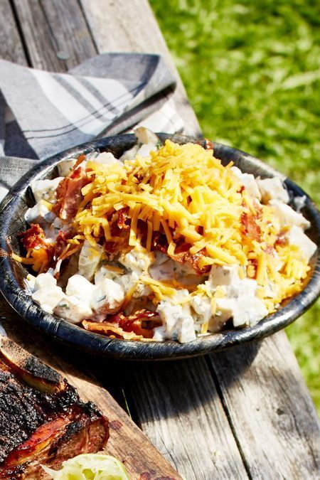 Grillmeister potato salad recipe   DELICIOUS -  If salad, then so! With and you get everything out