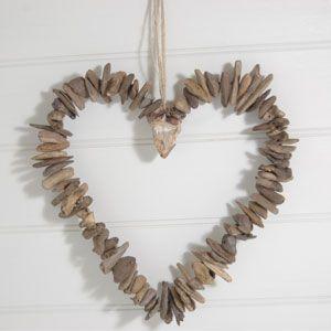 Driftwood/willow heart