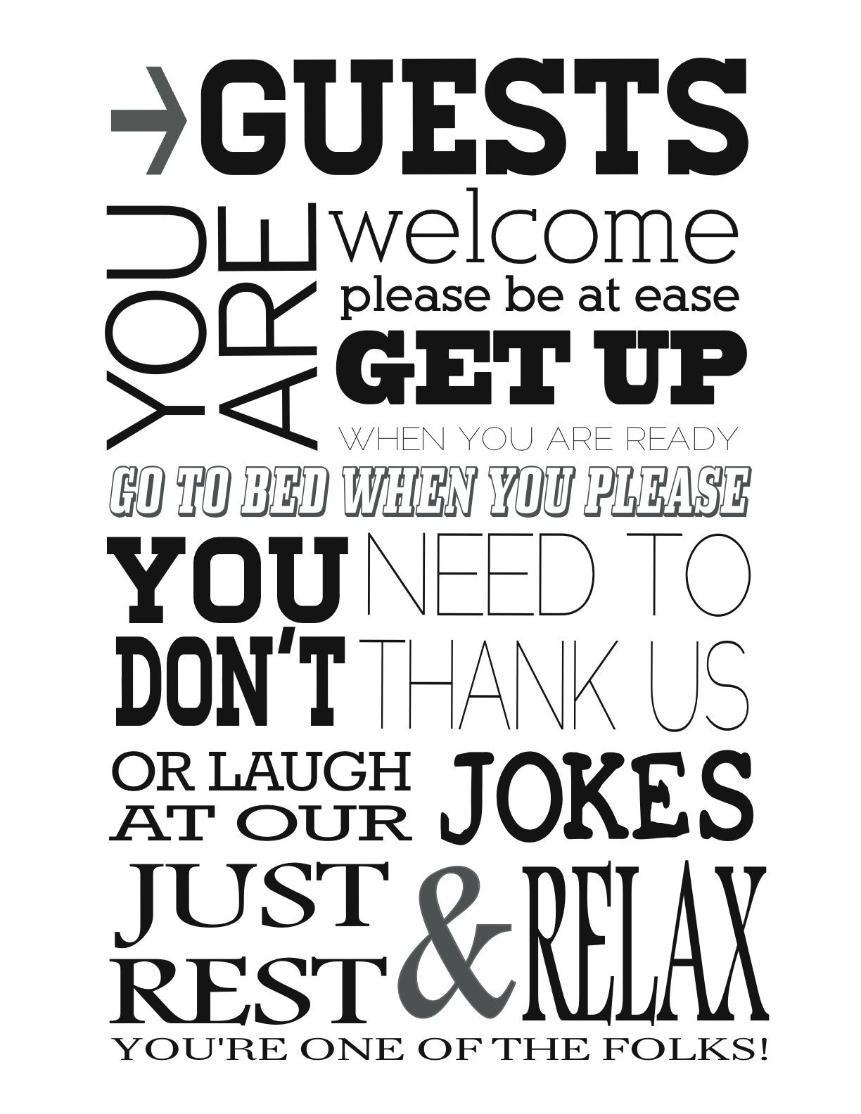 Quotes Cute For Guest Room With Images Home Quotes And