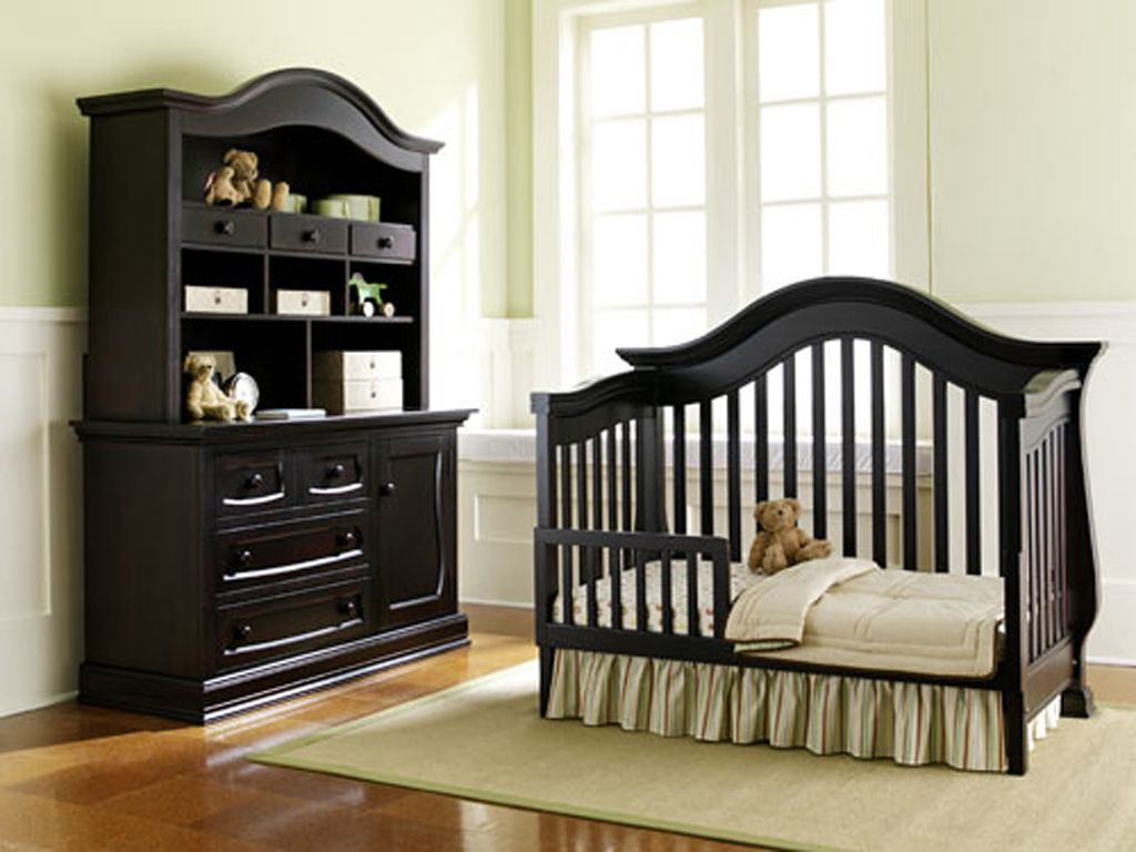 Black Luxury Baby Bedroom Furniture Plans Nursery Furniture Sets