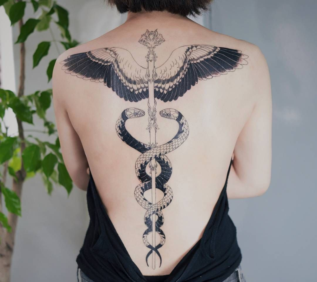 Ideas Meanings In 2019: 50 Ouroboros Tattoo Ideas And Meaning (2019)
