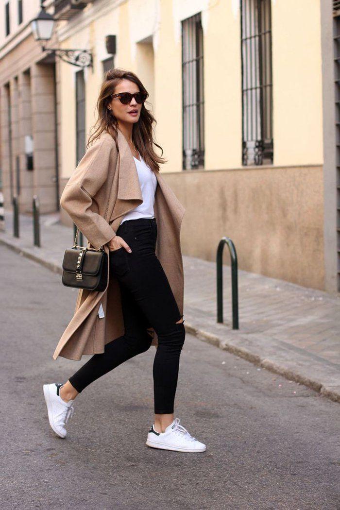 Comment porter un manteau blanc