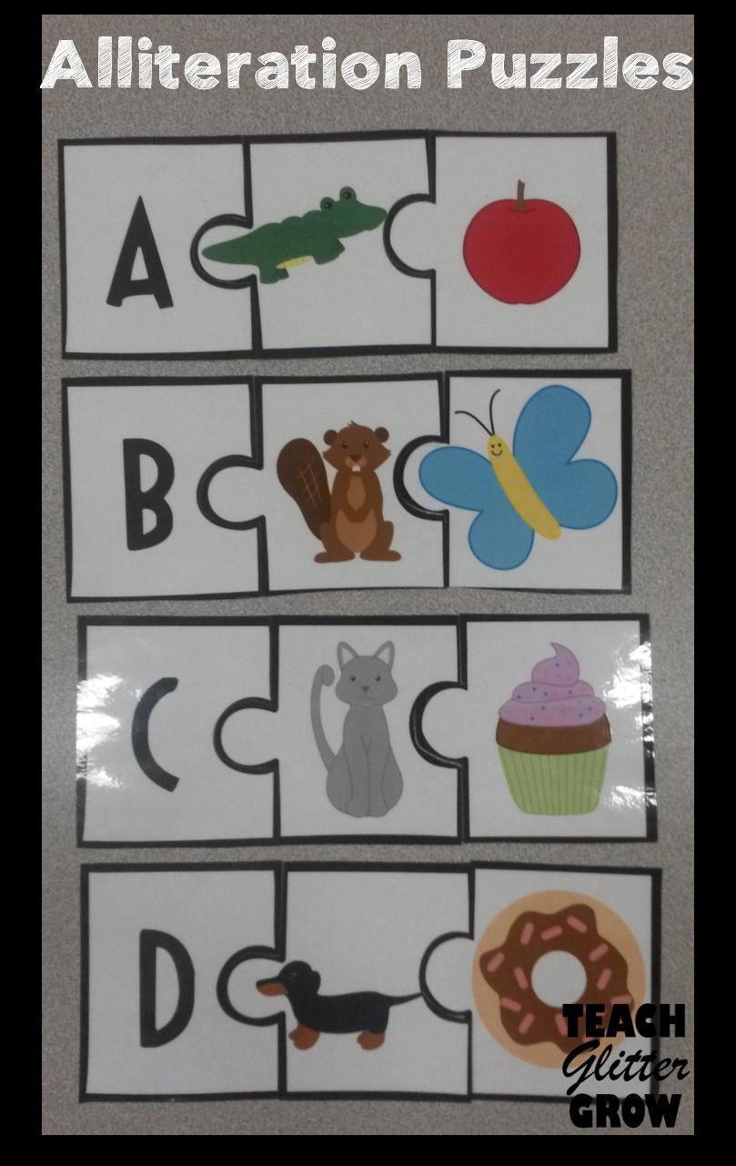 All About Alliteration Alliteration Activities Fall Preschool Activities Preschool Small Group [ 1281 x 809 Pixel ]