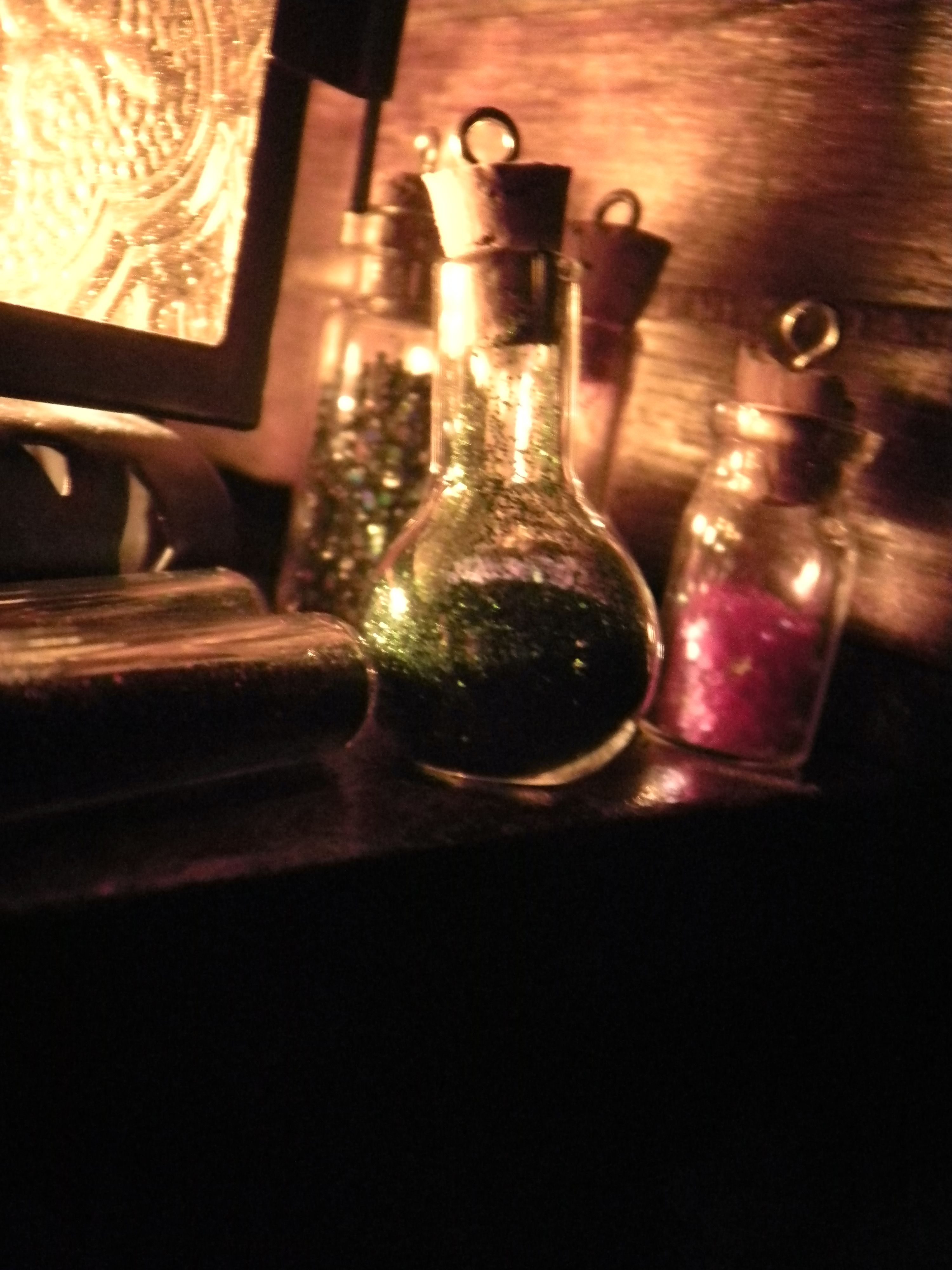 ~Pixie dust by the lantern By Veronica Beshara