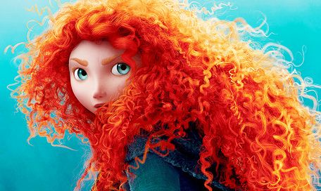 Merida - Brave (2012) my new favorite Disney princess. Strong female role model for my Ginger girl <3