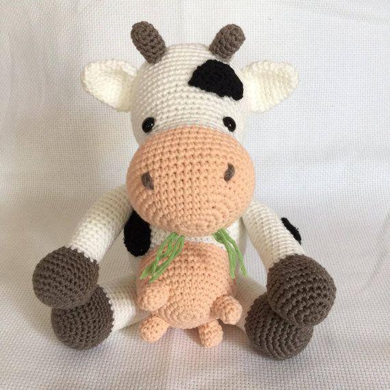 Receita Vaca com Fio Amigurumi - Blog do Bazar Horizonte | 570x570