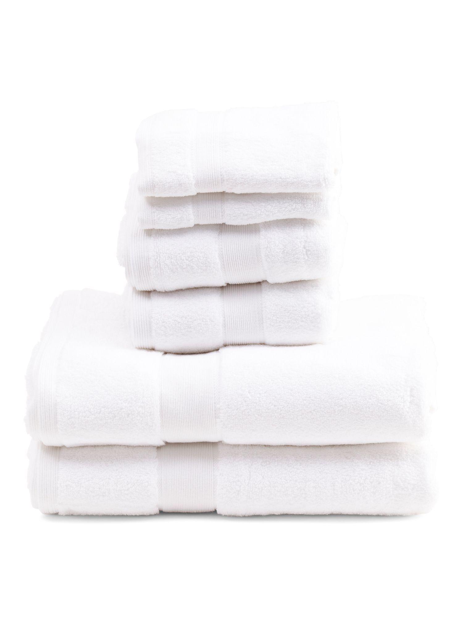 Made In India 6pc Heavyweight Towel Set Towel Set Towel India