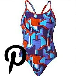 arena Ren One Piece Swimsuit Damen blackpix blueturquoise De 34