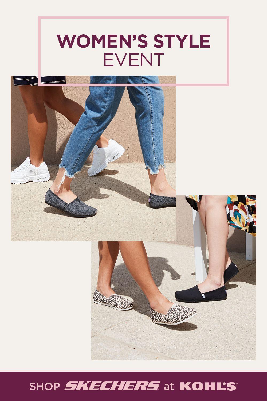 Get your kicks with Skechers sneakers