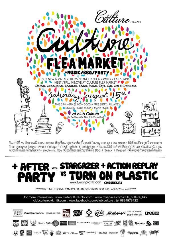 flea market poster poster pinterest poster graphic design